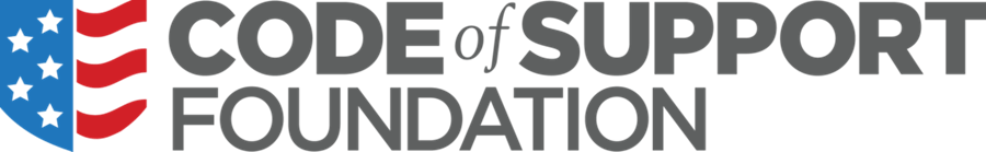 code of support logo